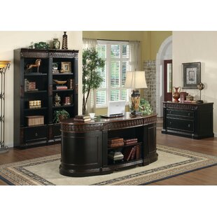 Stclair 3 Piece Desk Office Suite (Set Of 3) by Astoria Grand No Copoun