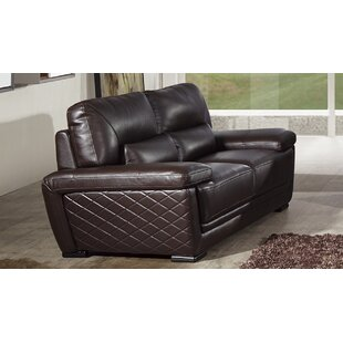 Vigil Leather Loveseat