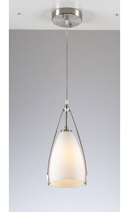 Wrought Studio Carnahan 1 Light Cone Pend..
