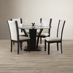 Tiberius 5 Piece Dining Set by Orren Ellis