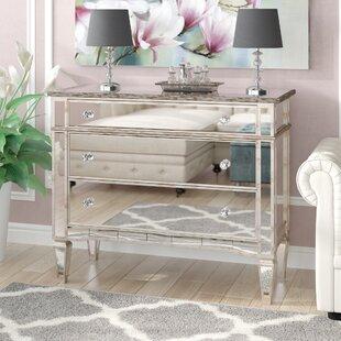 Bramer 3 Drawer Mirror Standard Dresser