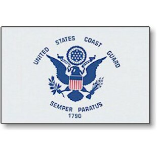 Coast Guard Glo Traditional Flag by NeoPlex