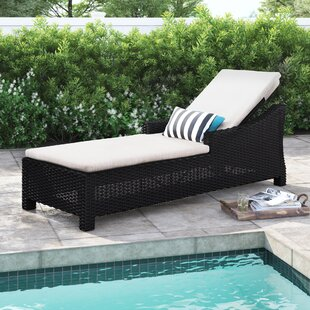 Bentonville Reclining Chaise Lounge with Cushion