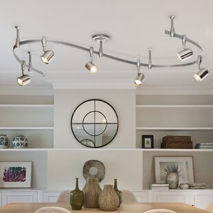 Catalina Lighting Benny Flex Rail 6-Light Track Lighting Kit