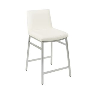 Read Reviews Thurlow Upholstered 24 Bar Stool by Orren Ellis Reviews (2019) & Buyer's Guide