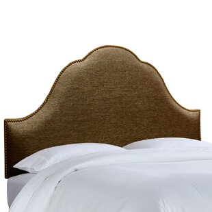 Inexpensive Brighton Nail Button Upholstered Panel Headboard by House of Hampton