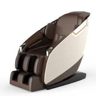 Ultimate Leather Upholstered Zero Gravity Massage Chair by Brayden Studio