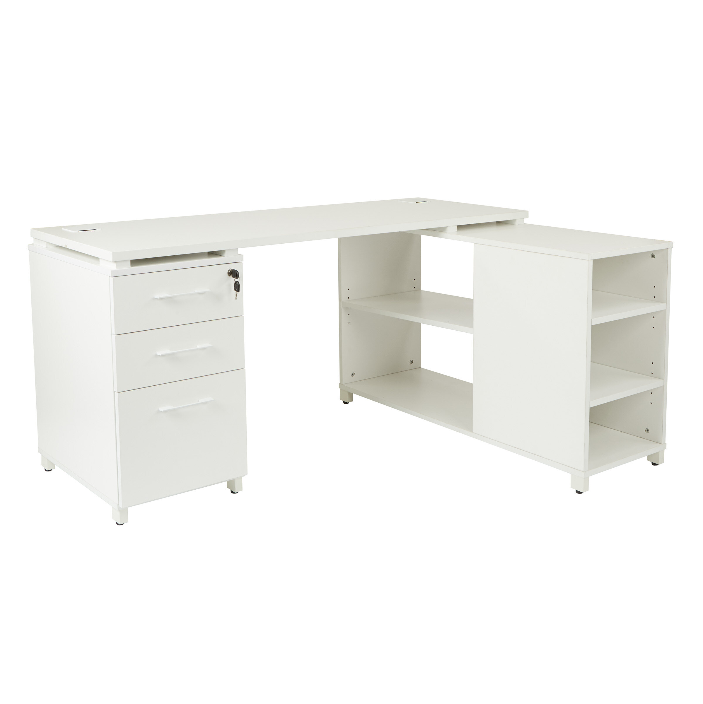 desk locking jr fairplex product dmi with executive computer drawer