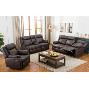 Novia 3 Piece Living Room Set Roundhill Furniture Best Buy.