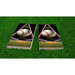 Custom Cornhole Boards Baseball Light Weight Cornhole Game Set