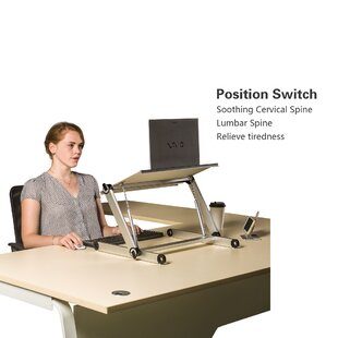 Velez Height Adjustable Standing Desk Converter