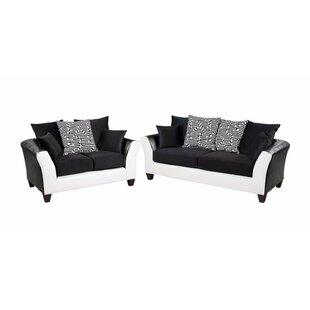 Winburn Velvet 2 Piece Living Room Set