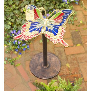 Enameled Butterfly Table by Wind & Weather Today Only Sale