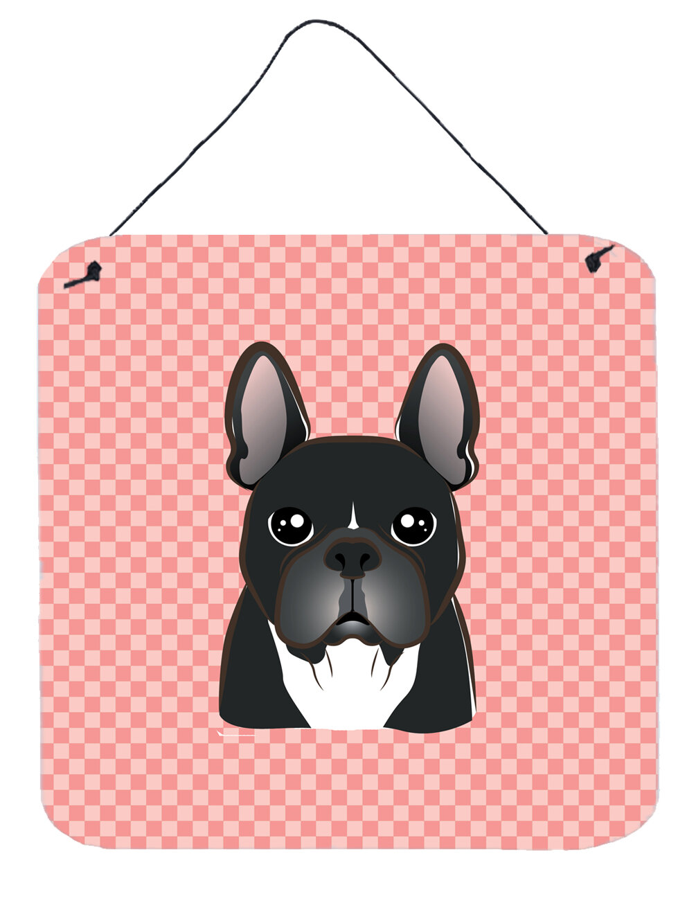 caroline s treasures checkerboard french bulldog by denny knight