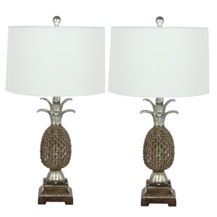 Pineapple 28 Table Lamp (Set of 2)