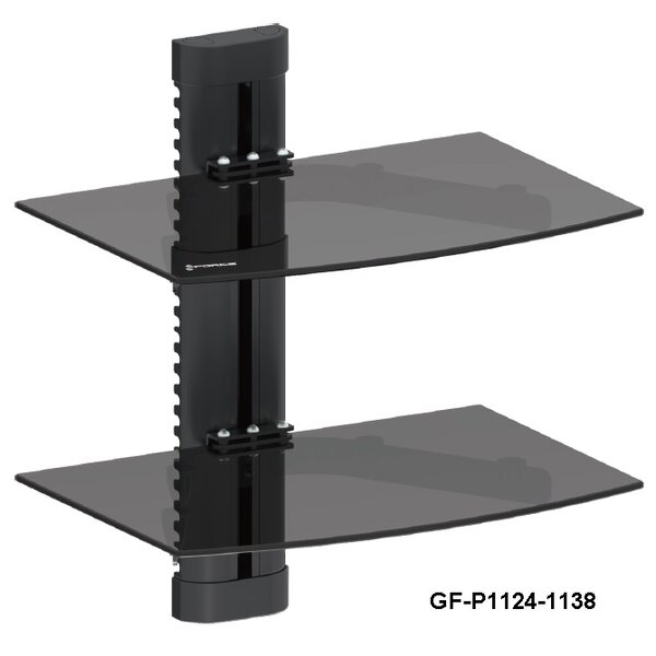 - GForce DVD Player Double Shelf Wall Mount & Reviews Wayfair