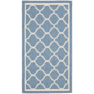 Bexton Blue Indoor/Outdoor Area Rug