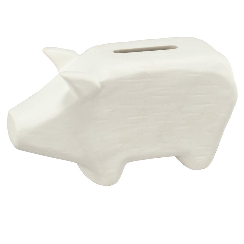 Mack & Milo Orne Piggy Bank