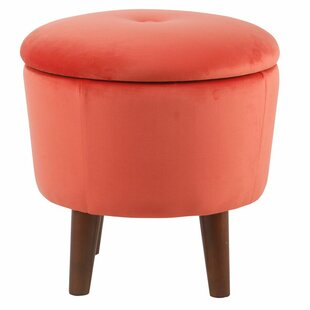 Moseley Modern Round Storage Ottoman by Turn on the Brights
