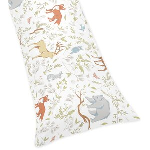Woodland Toile Body Pillow Case