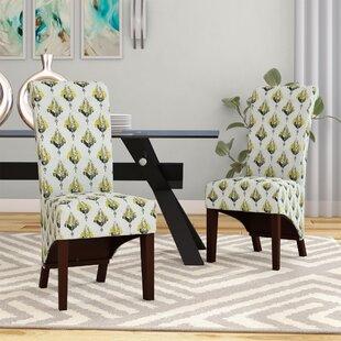 Langley Street Ramon Ferns Parsons Chair (Set of 2)
