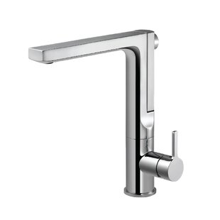 Houzer Ascend Integrated Pull Out Single Handle Kitchen Faucet