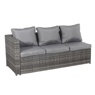 Montes Garden Sofa With Cushions Image