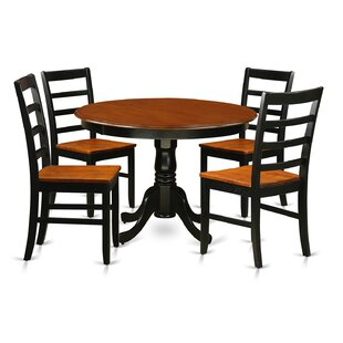 Artin 5 Piece Dining Set by Andover Mills 2019 Salet