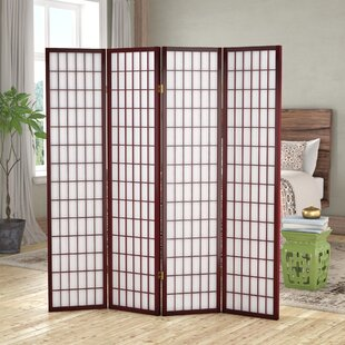 World Menagerie Vavra 4 Panel Room Divider