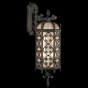 Find Costa Del Sol 2-Light Outdoor Wall Lantern By Fine Art Lamps