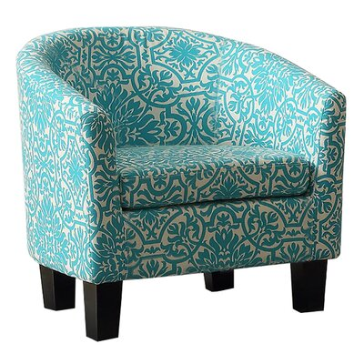 Cool Instant Home Isabel Barrel Chair Upholstery Color Tiffany Blue Squirreltailoven Fun Painted Chair Ideas Images Squirreltailovenorg