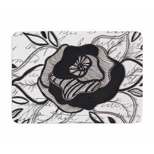 Like A Rose by Li Zamperini Memory Foam Bath Mat