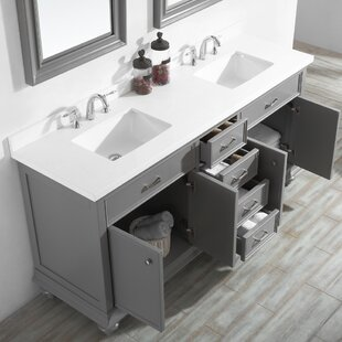 Best Weisner 72 Bathroom Vanity Set with Mirror By Alcott Hill