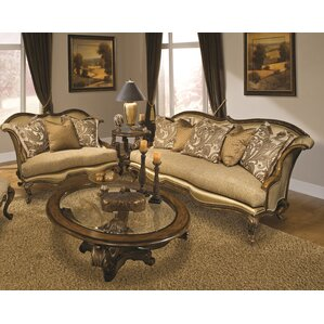 Venezia 2 Piece Living Room Set by Benetti's Italia