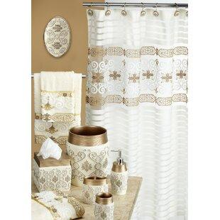 Lush Decor Polyester Shower Curtain Wayfair