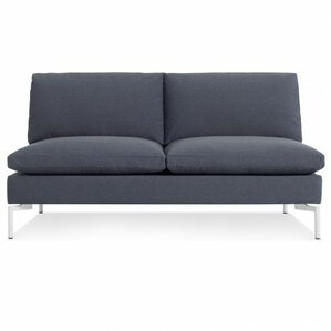 The New Standard Armless Loveseat by Blu Dot
