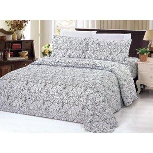 Floral Rayon Sheet Set
