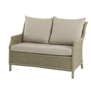 Rysing 2 Seater Garden Loveseat With Cushion Image