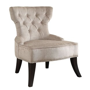 Colton Vintage Tufted Velvet Side Chair by Ave Six