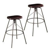 Parrish Swivel Bar & Counter Stool (Set of 2) by Williston Forge