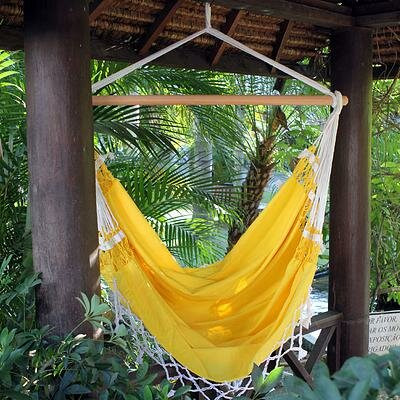 Cotton Chair Hammock Novica