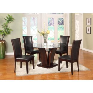 Herculis 5 Piece Dining Set by Latitude Run Wonderfult