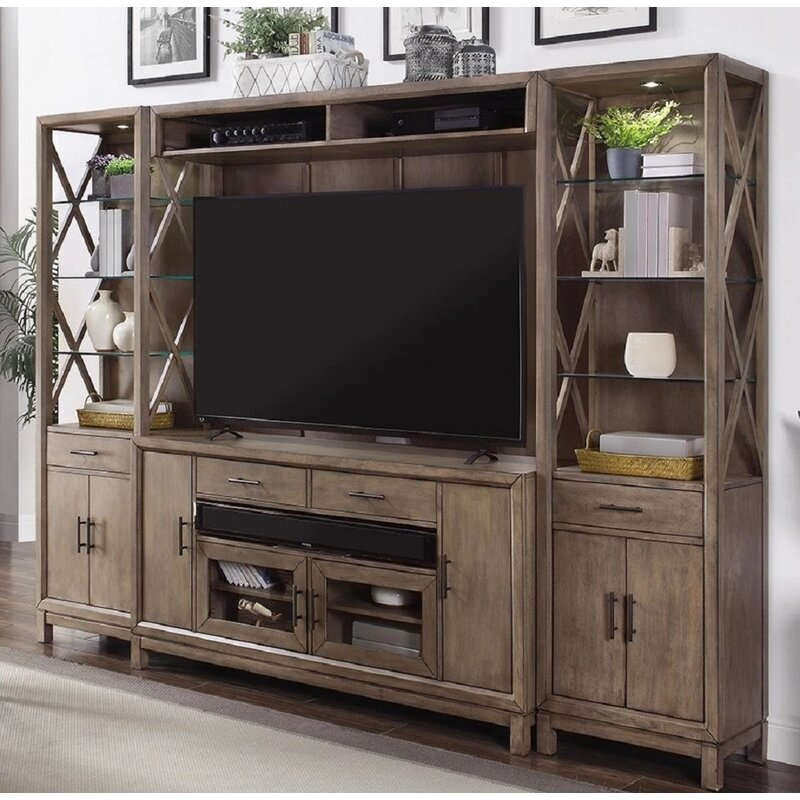 Fc Design Entertainment Center For Tvs Up To 88 Wayfair