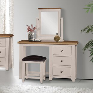 Price Sale Dressing Table Set With Mirror