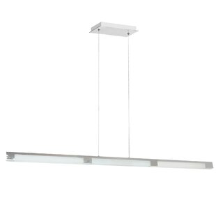 Wollaston 3-Light LED Pendant by Latitude Run