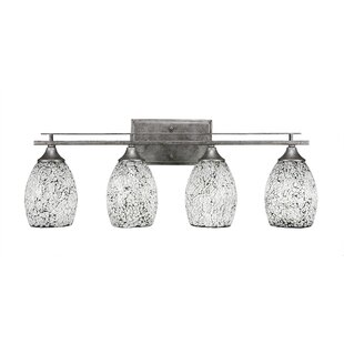 Read Reviews Sherrie Oval 4-Light Vanity Light By Zipcode Design
