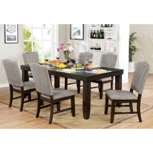 Charlton Home Rayan 7 Piece Extendable Dining Set