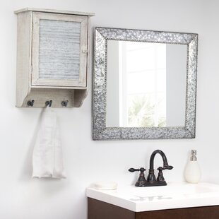 Purchase Baumann Galvanized Square Metal Wall Mirror By Williston Forge