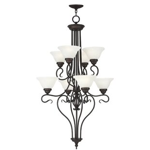 Lewisboro 8-Light Shaded Chandelier