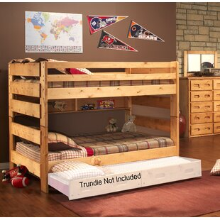 Compare prices Marie Full Over Full Bunk Bed by Harriet Bee Reviews (2019) & Buyer's Guide